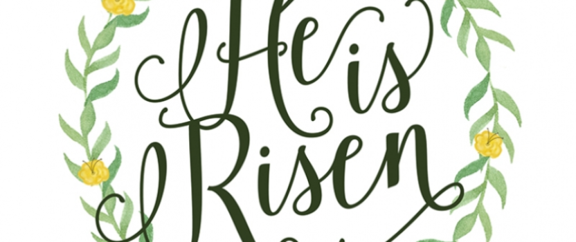 Easter Sunday – April 1, 2018